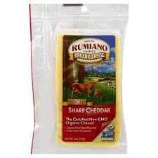 Rumiano Organic Sharp Cheddar Sliced