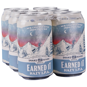 Snake River Earned it Hazy IPA 6 pk