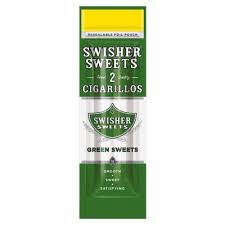 Swisher Sweets Green Sweets (2 pack)