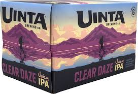 Uinta Clear Daze Juicy IPA (6 pack cans)