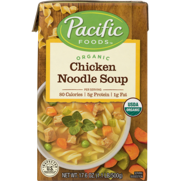 Pacific Natural Foods Chicken Noodle Soup (17 oz)