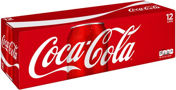 Coca Cola Coke (12 pack cans)
