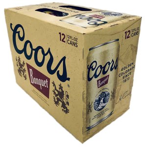 Coors Banquet (12 pack cans)