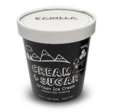 Cream & Sugar Vanilla Ice Cream (pint)