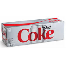 Diet Coke Coca Cola(12 pack cans)