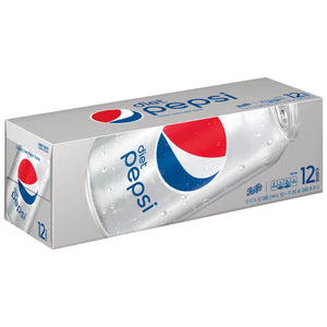 Diet Pepsi (12 pack cans)