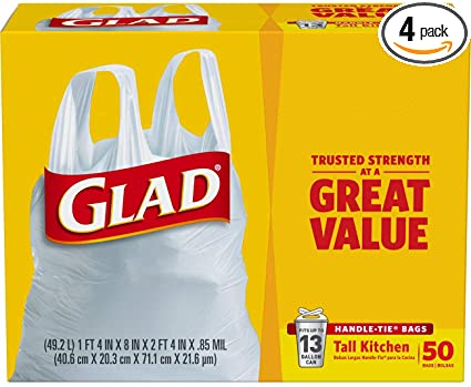 Glad Kitchen Trash Bags (26 bags)