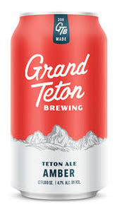 Grand Teton Brewing Amber (6 pack cans)