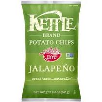 Kettle Brand Jalapeno Chips (5 oz bag)