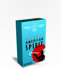 American Spirit Light Blue Box