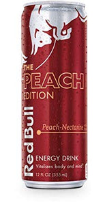 Red Bull Peach (12 oz)