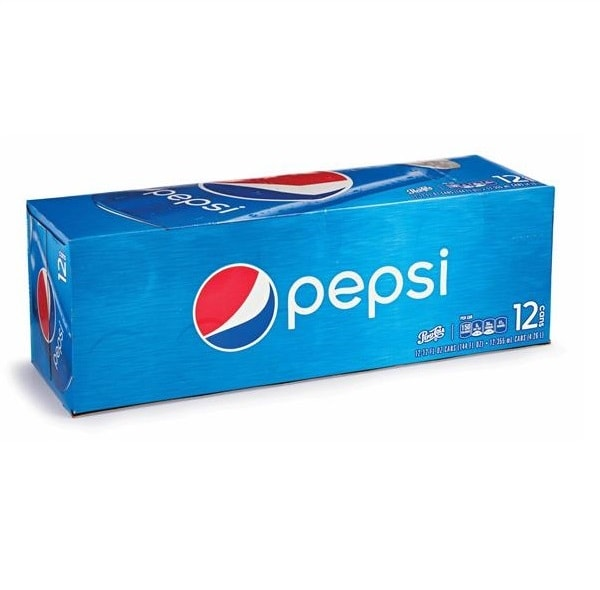 Pepsi (12 pack cans)
