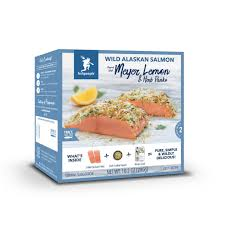 Fish People Frozen Salmon w/ Lemon & Herb (10.2 oz)