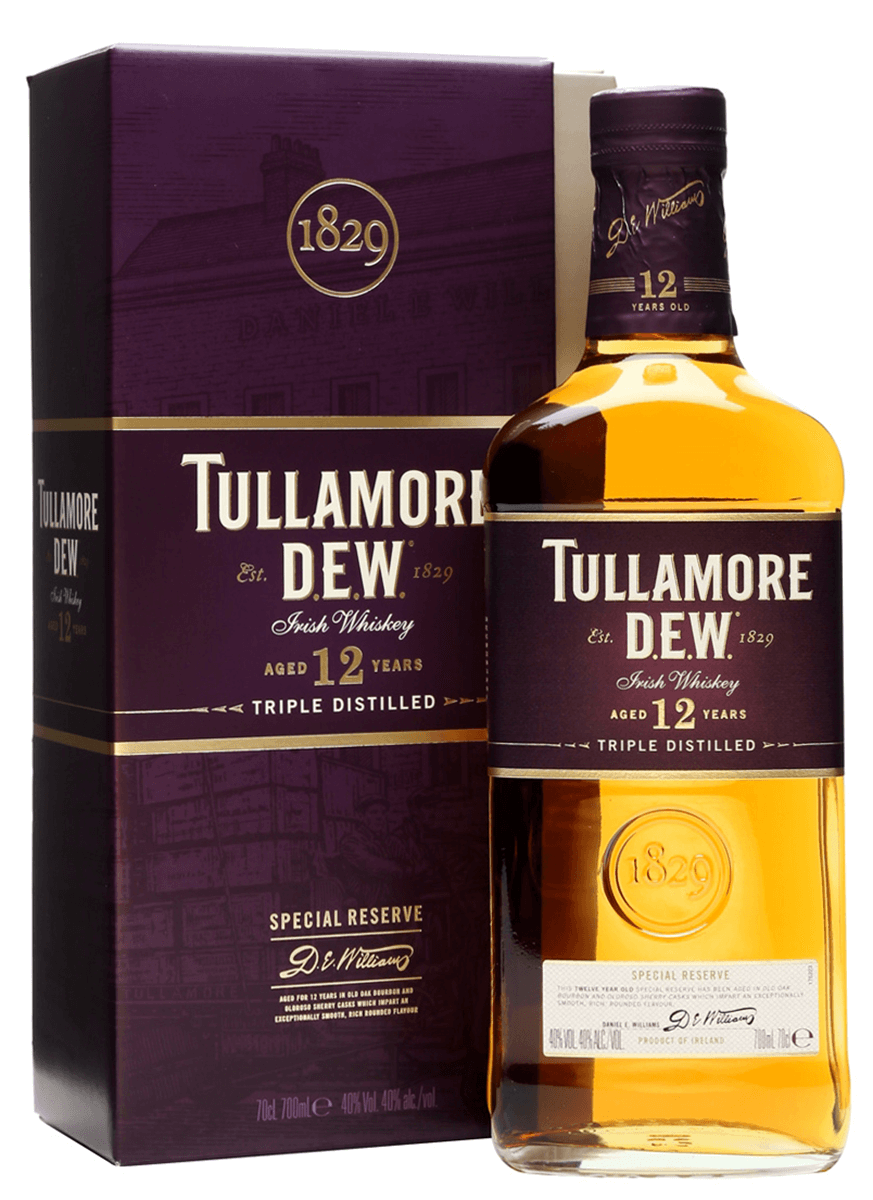 Tullamore Dew 12 Year Irish Whiskey (750)