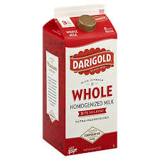 Darigold Whole 3% Milk (half gallon)