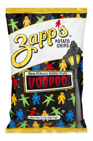 Zapp's Voodoo Chips (5 oz bag)