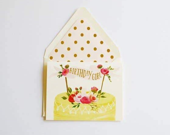 Adorable Birthday Card for any girl!