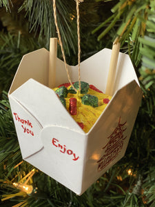 Chinese Take-Out Ornament