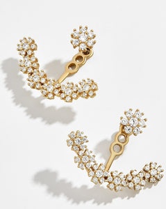 Flor 18K Gold Vermeil Ear Jackets