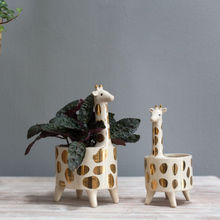 Load image into Gallery viewer, Giraffe Planter
