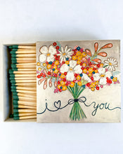 Load image into Gallery viewer, I <3 You Box of Matches