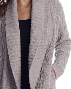 Barefoot Dreams Cable Shaw Cardi