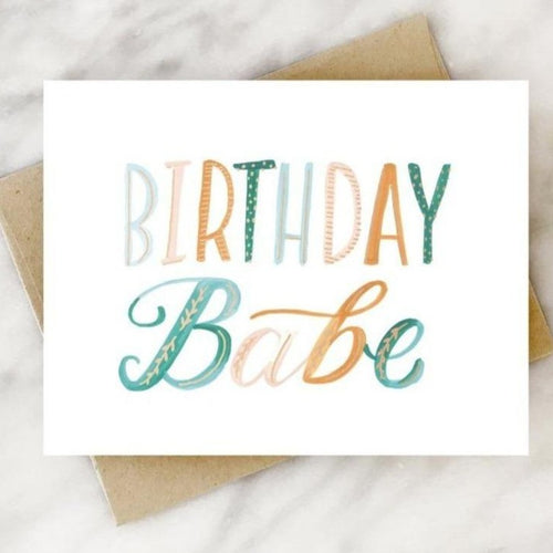 Celebrate your gal pal with this fun and sassy birthday card that reads