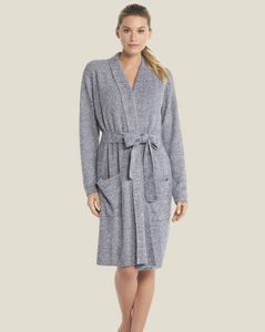 Barefoot Dreams CozyChic Lite RIbbed Robe helps keep you cozy and covered, yet light weight.