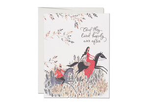 Happily Ever After Wedding Card