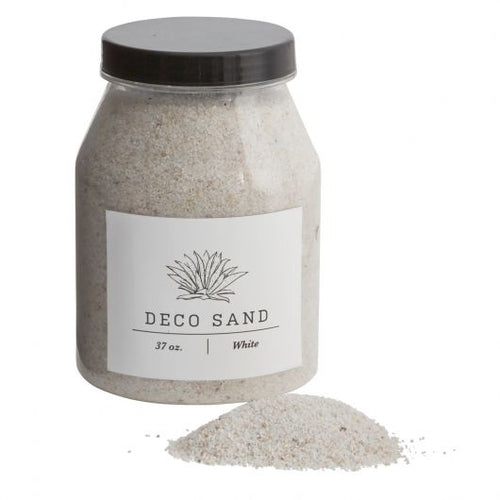 White Deco Sand for Terrariums + dish cacti gardens