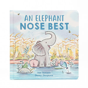 An Elephant Nose Best is a charming tale about liking yourself exactly as you are. This gorgeous hardback show a baby elly finding out what a trunk is about! Whether it's munching the yummiest leaves or taking a shower, a long nose is lovely!