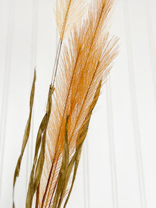 Faux / Artifical / fake Pampas Grass Stems  in GOLD