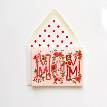 Mom in Florals Card