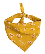 Load image into Gallery viewer, Mustard Floral NO21Sadie Bandana