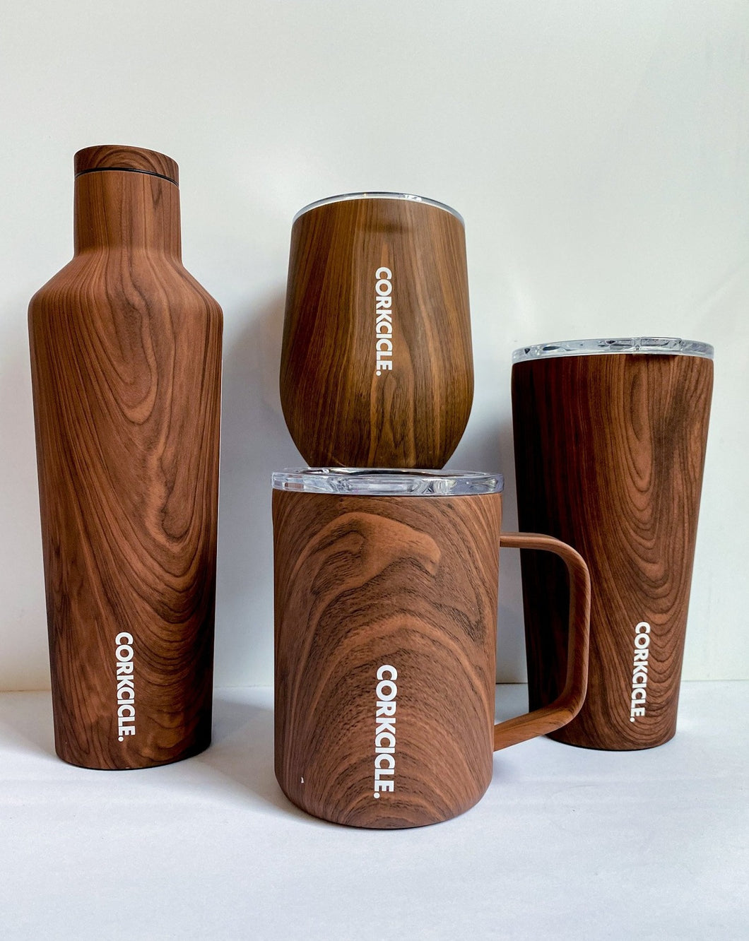 Walnut Corkcicle Drinkware
