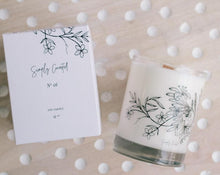 Load image into Gallery viewer, Simply Curated - Botanical Soy Candle No. 01