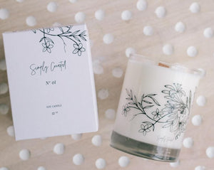 Simply Curated - Botanical Soy Candle No. 01