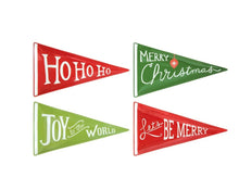 Load image into Gallery viewer, Christmas Ceramic Pennant Plates
