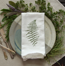 Load image into Gallery viewer, Wood& Resurreaction Fern Napkins