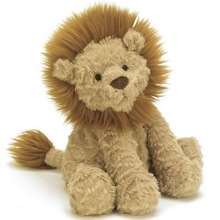 Load image into Gallery viewer, King of the cuddles! This squidgy-soft lion is silky and sweet, and though he's meant to be