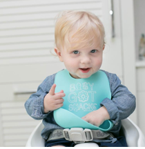 Load image into Gallery viewer, Baby Got Snacks Bella Tunno Bib