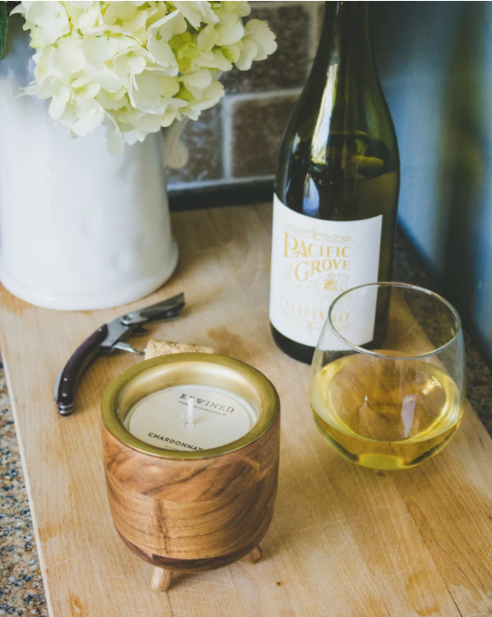 Chardonnay Barrel Aged Soy Wax Candle
