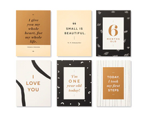 Load image into Gallery viewer, Moments of Love Newborn Milestone Cards