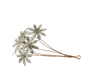 Metal Tole Flower Bunch
