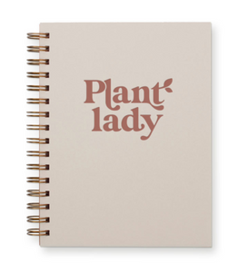 Plant Lady Journal : Lined Notebook