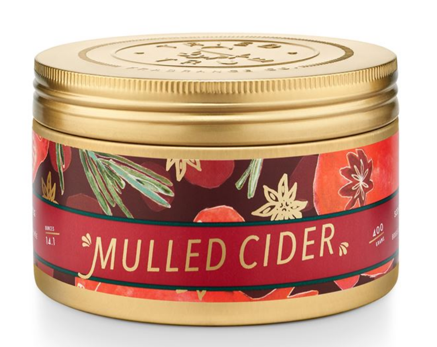 Illume Tried & True Mulled Cider Large Tin Candle