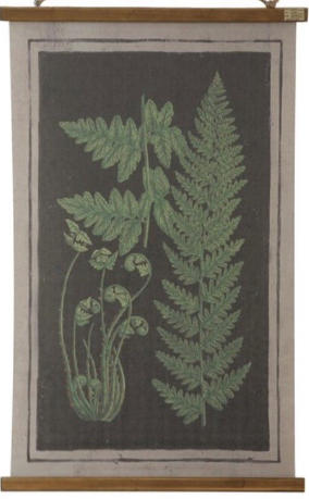 Botanical Wood Scrolls