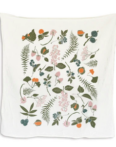 Wild Berries and Nuts Towel