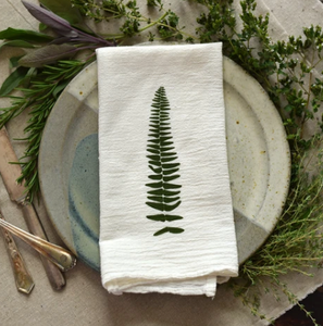 Wood& Resurreaction Fern Napkins