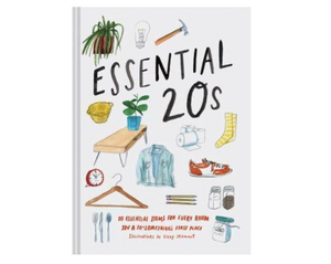 Essentials 20s: 20 Essential Items for Every Room in a 20-Something's First Place